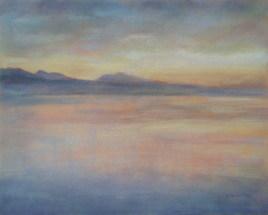 Coucher de soleil sur le Lac Léman 5