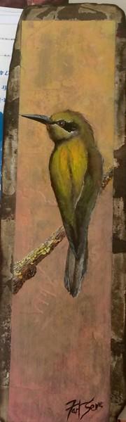 Matiere et oiseau