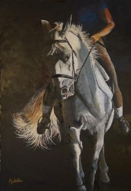le cheval au travail