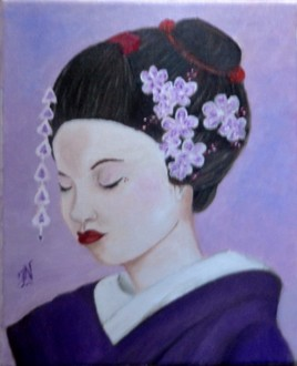 Portrait de Geisha