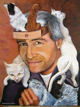 Entre chiens et chats (clin d'oeil à Dali)
