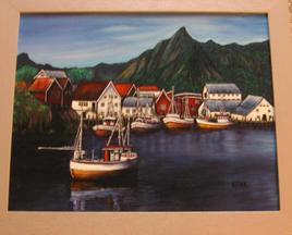 les bateaux de norvege