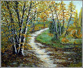 Forêt de Rambouillet en automne