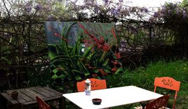 toile dans mon jardin