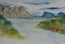 Les montagnes bleues des Lofoten