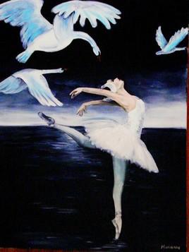 Danseuse du Lac des Cygnes