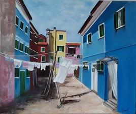Une rue de Venise