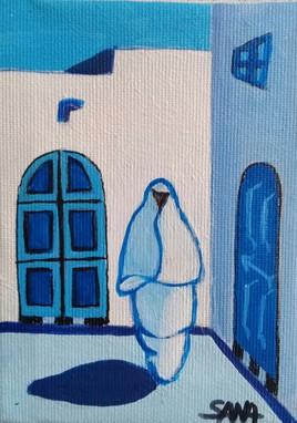 Mini toile rue du maroc