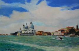 Venise le grand canal et la Salute
