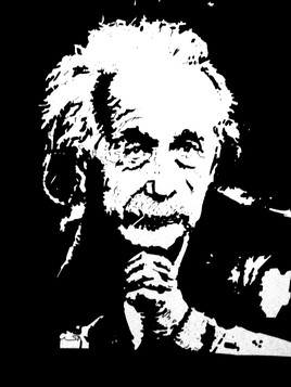 Portrait de Albert Einstein