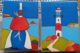 Mini toiles Bretagne