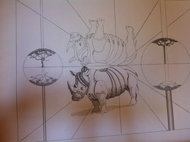 le rhino va au bal masqué