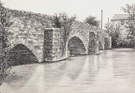 Pont Gothique ( St Ouen sur Gartempe)