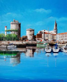 La Rochelle, le vieux port et ses tours