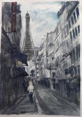 La Rue Parisienne.