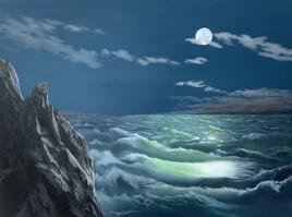 Tempête sous clair de lune