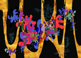 Pixart 67 - Création numérique abstraite sur papier photo