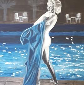 Sortie de bain - Série Marilyn