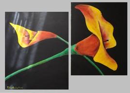 LA fleure dans le noir