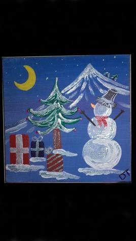 Noël enneigé