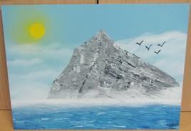 Montagne et Mer en Spraypainting