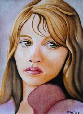 - Iris Dafner - (aquarelle)