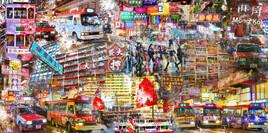 Hong kong, quartier de Mongkok
