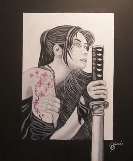 femme samorai 2