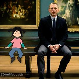 Aller au musée et rencontrer Daniel Craig ?