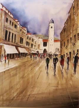 Dubrovnik après l'orage