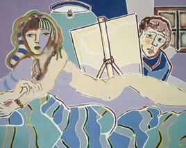 Le peintre et son modèle 8