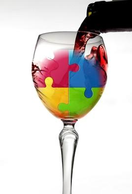 Vin saveur puzzle