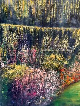 Le mur du parc