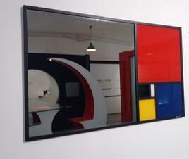 Miroir Mondrian Fibonacci
