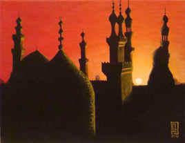 Crépuscule sur Le Caire N°2