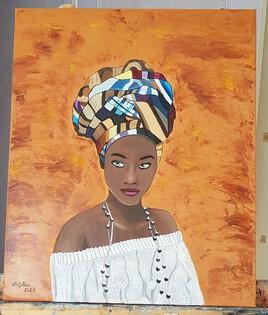 Portrait d'une Africaine