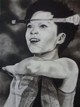 Twirling bâton projo