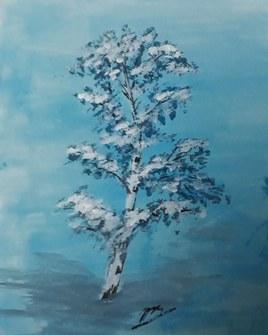 Neige hivernale