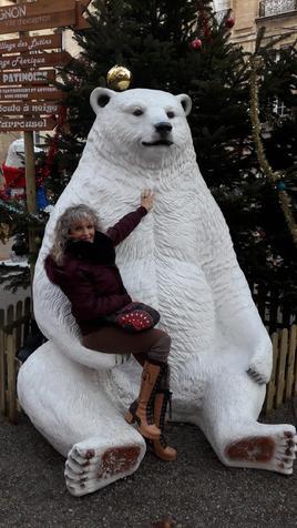 j'ai rencontré l'ours d'Olga dans mon conte
