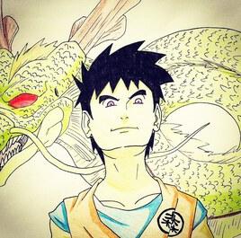Hommage à Dragon Ball