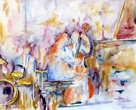 Peinture La boîte de jazz