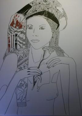 Jeune fille à l'arôme