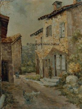 La maison de Bouchaud à Exideuil sur Vienne