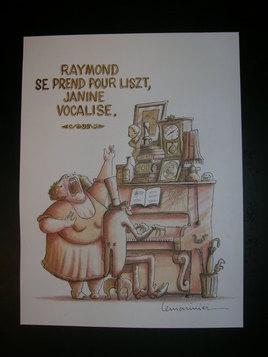 Raymond et Janine...
