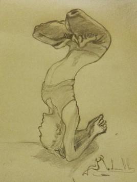 Esquisse contorsion