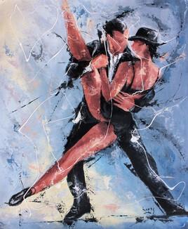 Tango au chapeau noir