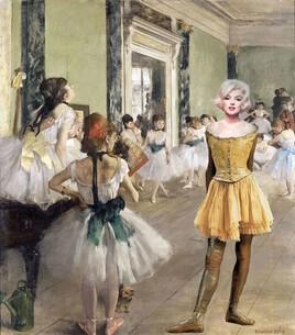 Marilyn et la petite danseuse de Degas..