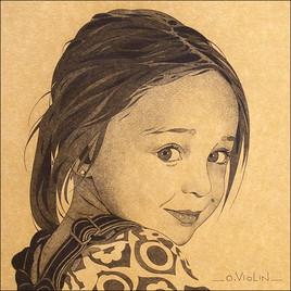 Portrait d'enfant n°6