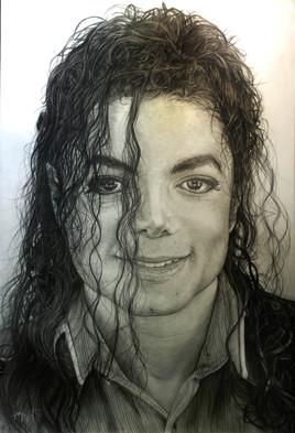 Michael Jackson crayon