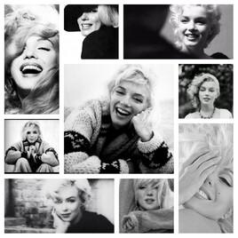 le sourire de Marilyn ..